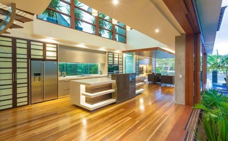 Chris Clout Design Modern Resort Kitchen Tropical House