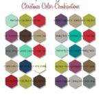 Christmas Color Combinations Stampin Ideas