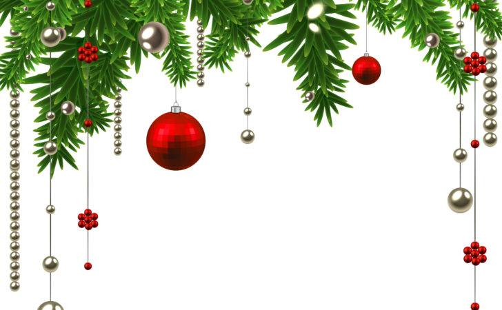 Christmas Decoration Clipart Borders
