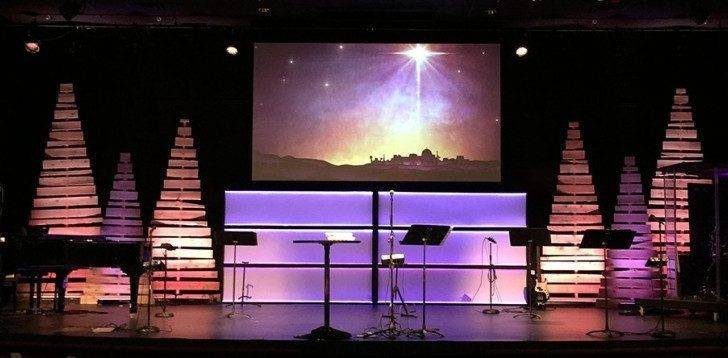 Christmas Designs Church Stage Design Ideas