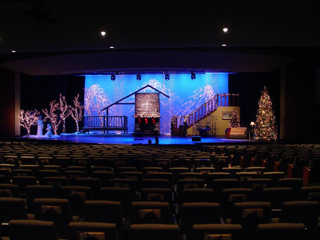 Christmas Stage Design Church Joy Studio Best