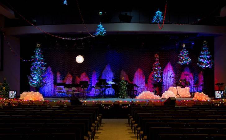 Christmas Stage Design Church Joy Studio Best