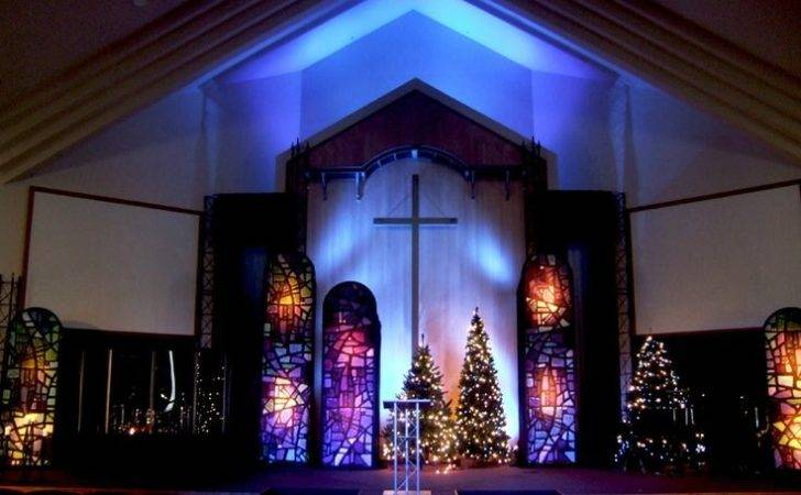 Christmas Stage Design Ideas Pinterest