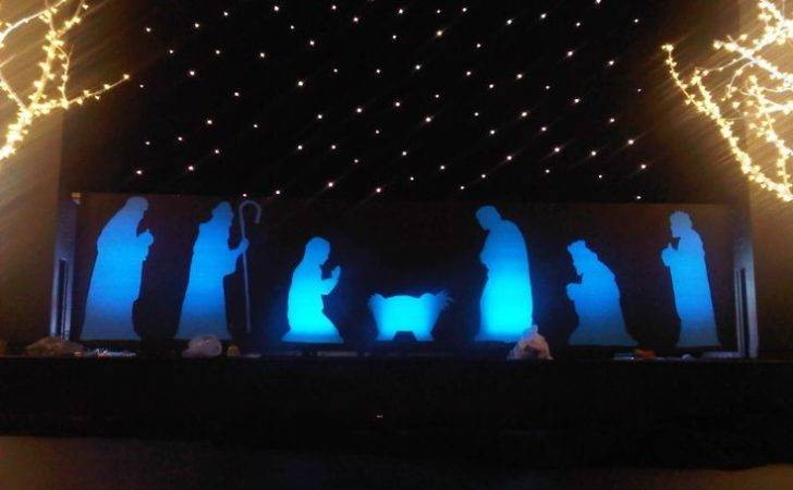 Christmas Stage Design Pinterest Led