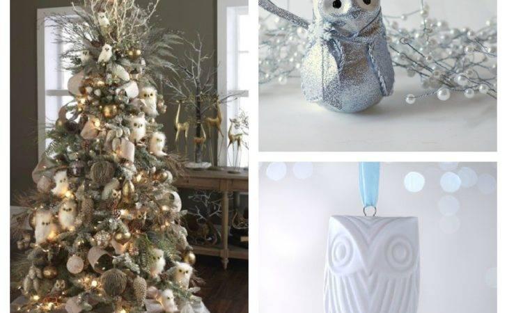 Christmas Tree Color Decor Schemes Setting Four