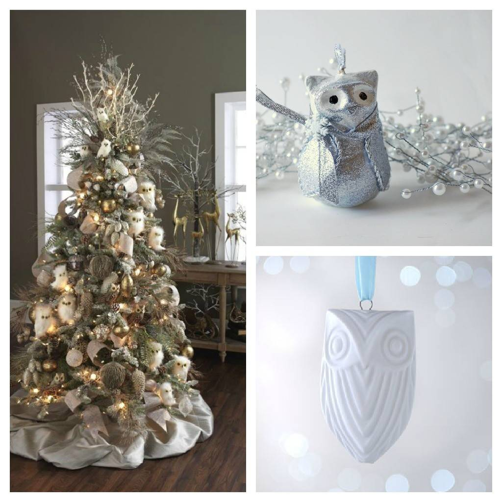Christmas Tree Color Decor Schemes Setting Four