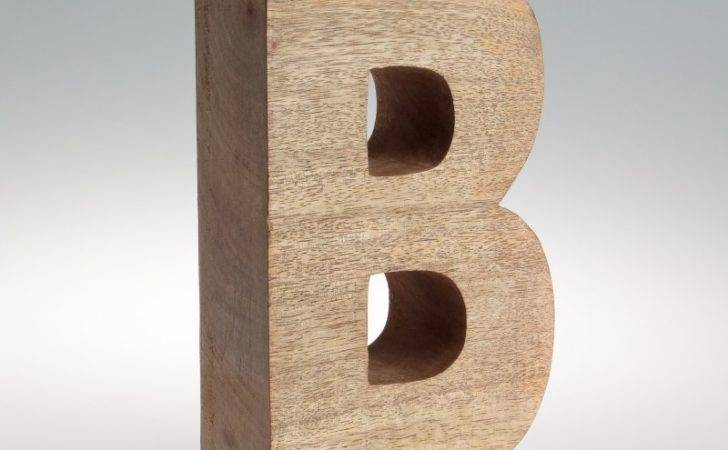 Chunky Mango Wooden Letters