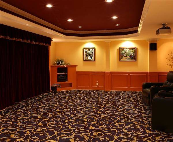 Cinemashop Home Theater Carpet Acanthus