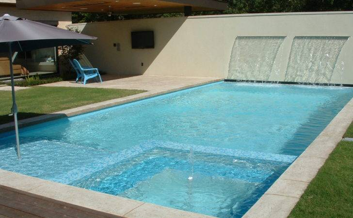 City Pool Small Spa Garden Square Meter