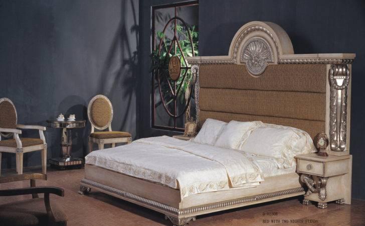 Class Bedroom Furniture Panel Sets High Set