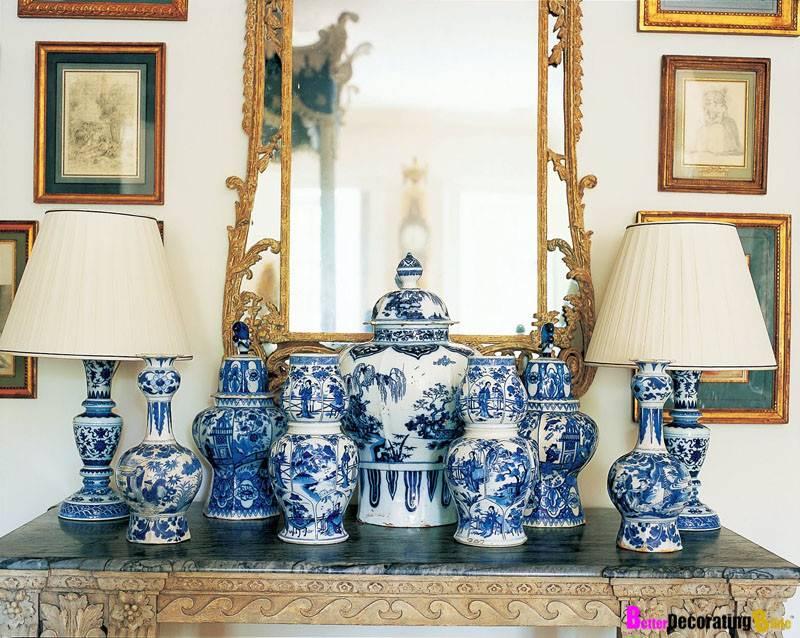 Classic Blue White Porcelain Decor Obsession