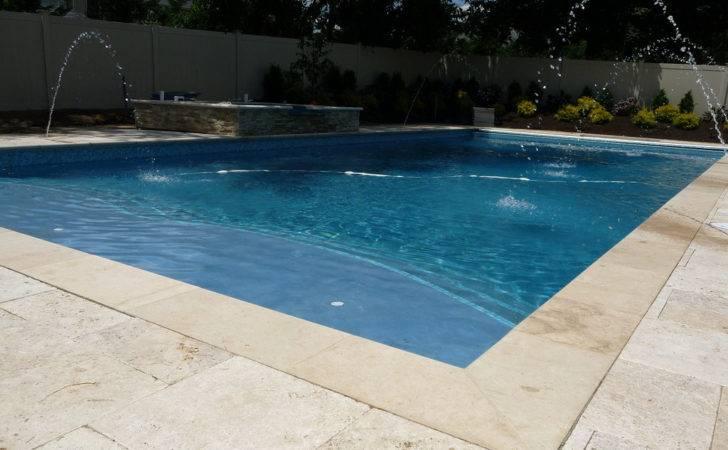 Classic Designer Custom Rectangle Pool Landscapes Desig