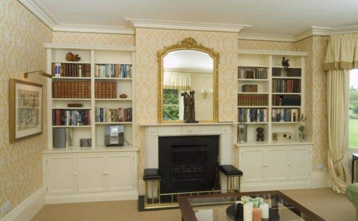Classic Drawing Room Alcove Units