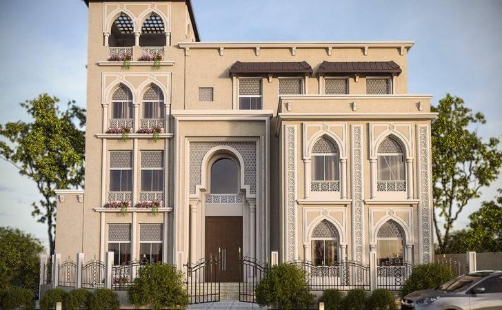 Classic Elevation Design Kuwait Behance