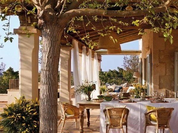 Classic Patio Ideas Mediterranean Style