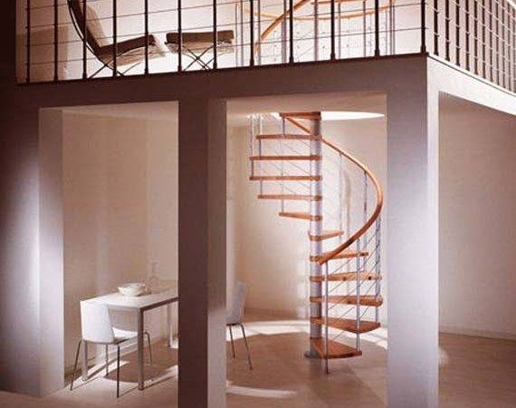 Classic Spiral Stairs Design Contemporary Style Modern