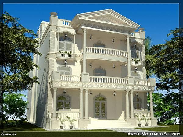 Classic Villa Behance