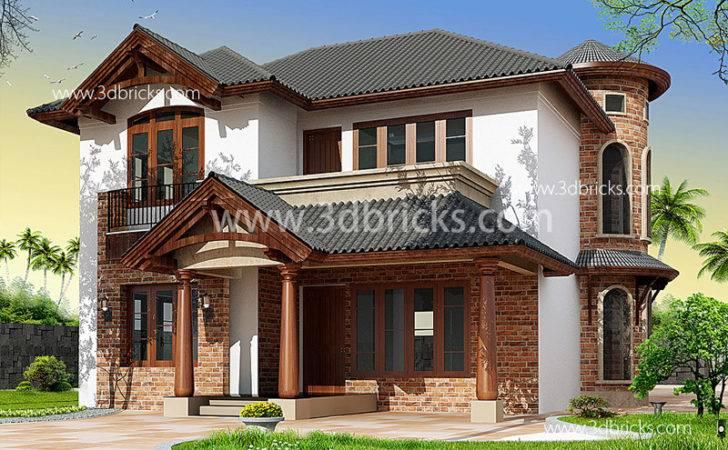 Classic Villa Elevation Elevations