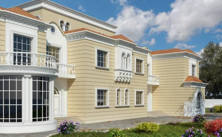 Classic Villa Elevation Front