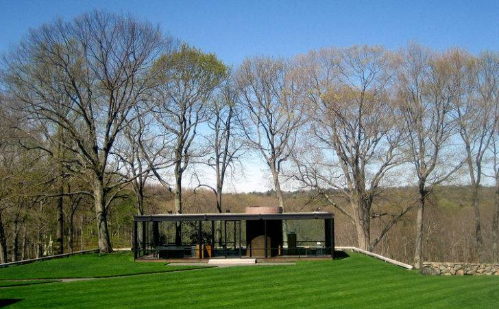 Classics Glass House Philip Johnson Archdaily