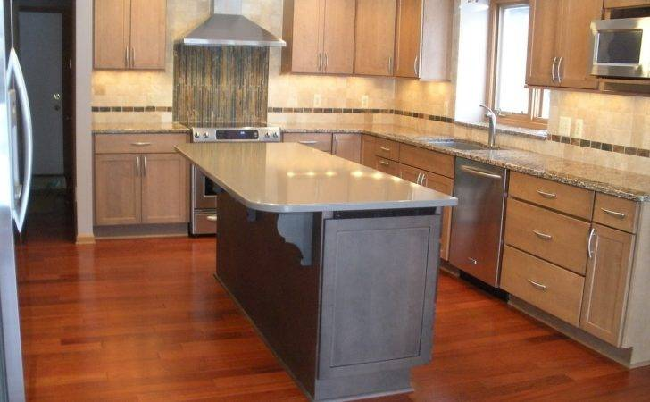 Classy Lamplight Kitchen Calm Shaker Style Cabinets Facing