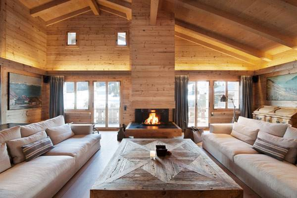 Clean Lines Chalet Gstaad Swiss Alps Freshome