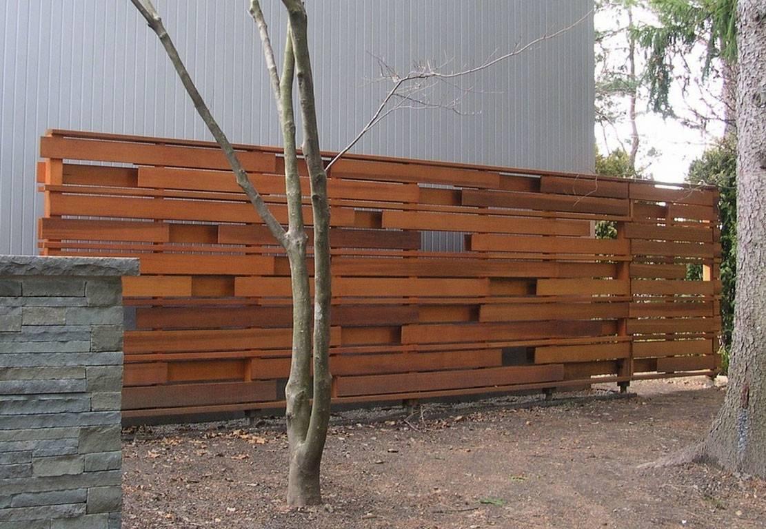 Clean Modern Wood Privacy Fence Wonderful Addition