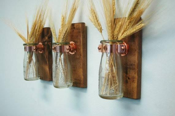 Clear Milk Bottle Wallddecor Home Decor Pineknobsandcrickets