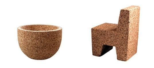 Clever Cork Furniture Inhabitat Green Design Innovation