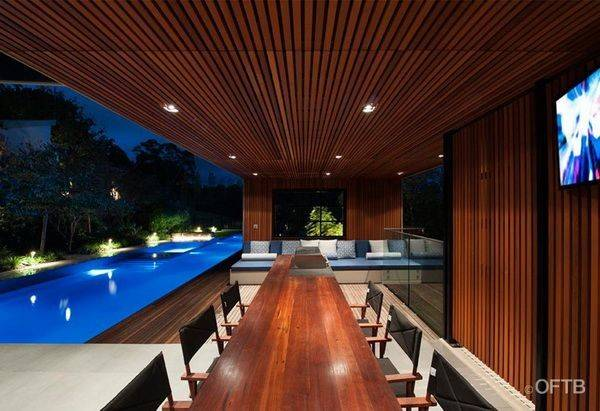 Clever Outdoor Living Space Berwick Oftb Melbourne
