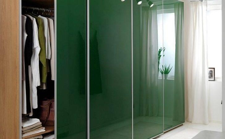 Closet Door Ideas Ikea Sliding Glass Doors Green Color