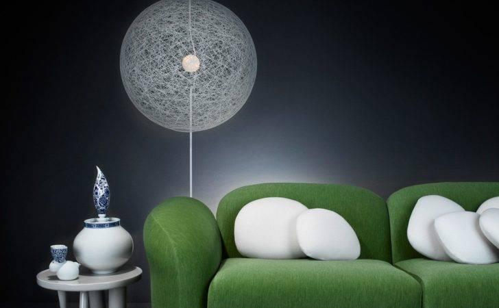Cloud Sofa Delft Blue Elements Random Light Led Floor Lamp