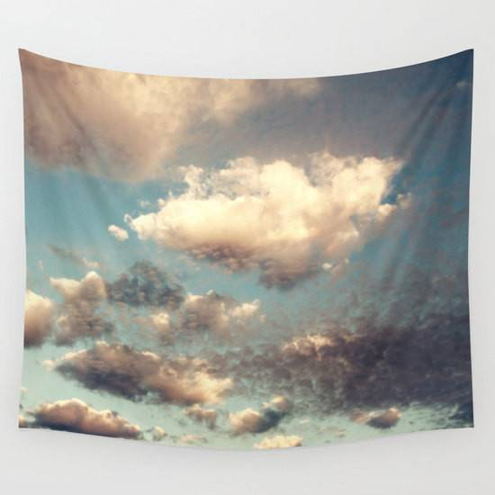 Cloud Tapestry Cloudy Sky Clouds Large Wall Decor