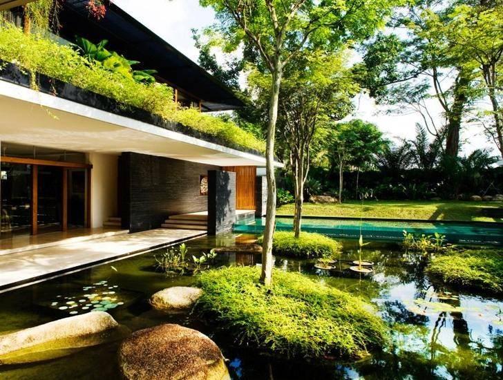 Cluny House Showcases Low Energy Luxury Singapore