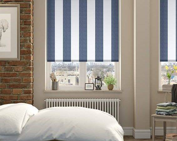 Coastal Blinds Choices Amelie Delft Blue