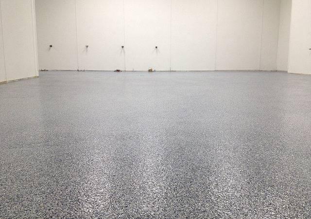 Coat Epoxy Vinyl Chip Bathroom Floor Lynchburg