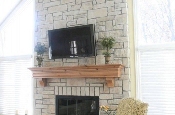 Cobble Stone Fireplace Jpeg