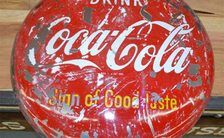 Coca Cola Button Sign Good Taste Custom Doors Gates