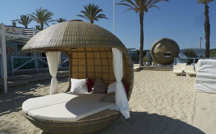 Cocoon Bed Beach Daybed Stylish Outdoor Lounging