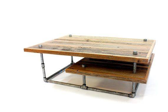 Coffee Table Modern Industrial Rustic Barn Wood Furniture