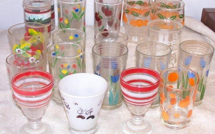 Collecting Peanut Butter Glasses Swanky Swigs Antique