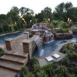 Colleyville Residential Lazy River Farley Pool Designs