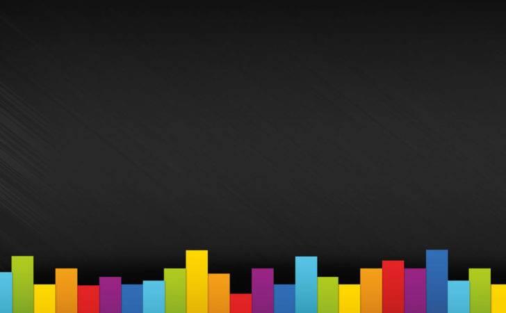 Color Contrast Design Powerpoint Colors