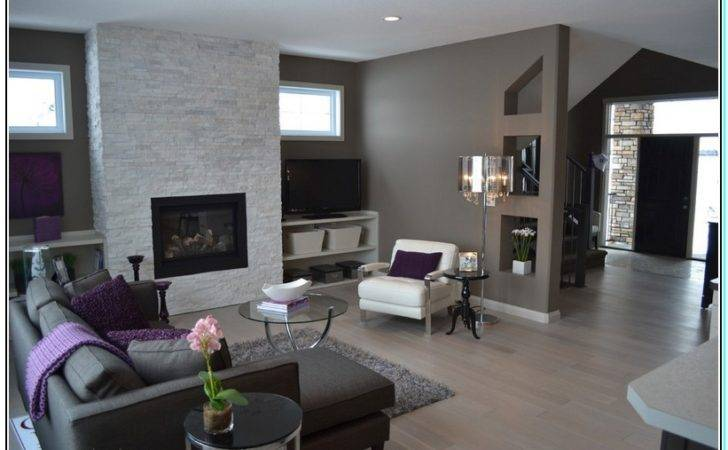 Color Furniture Goes Dark Gray Walls
