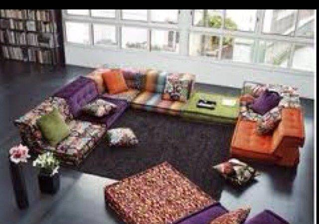 Color Interiors Floors Cushions Media Rooms Pillows Sofas