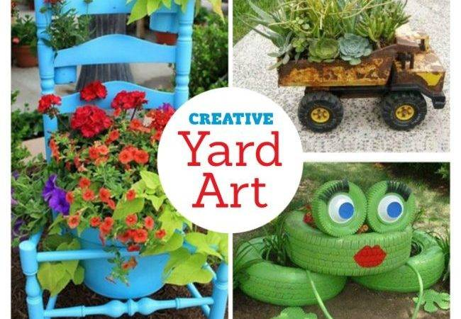 Color Joy Garden Porch Yard Diy Art