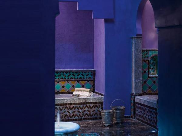 Color Scheme Moroccan Style Gives Decor
