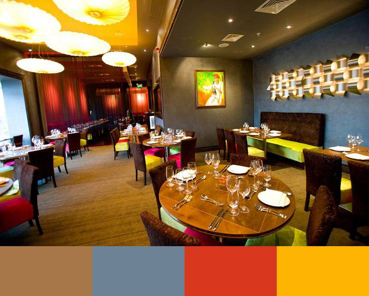 Color Schemes Restaurant Interior Design