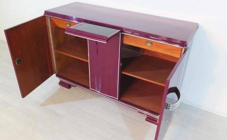 Colorful Art Deco Buffet Unique Lilac Color Sale Stdibs