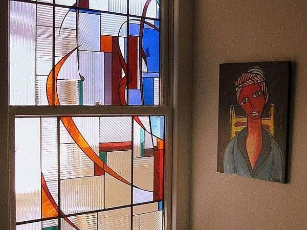 Colorful Art Glass Windows Elegant Touch